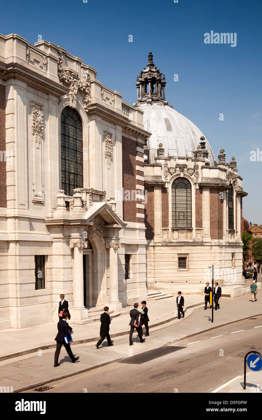 England, Berkshire, Eton College School Hall and Library - Stock Image