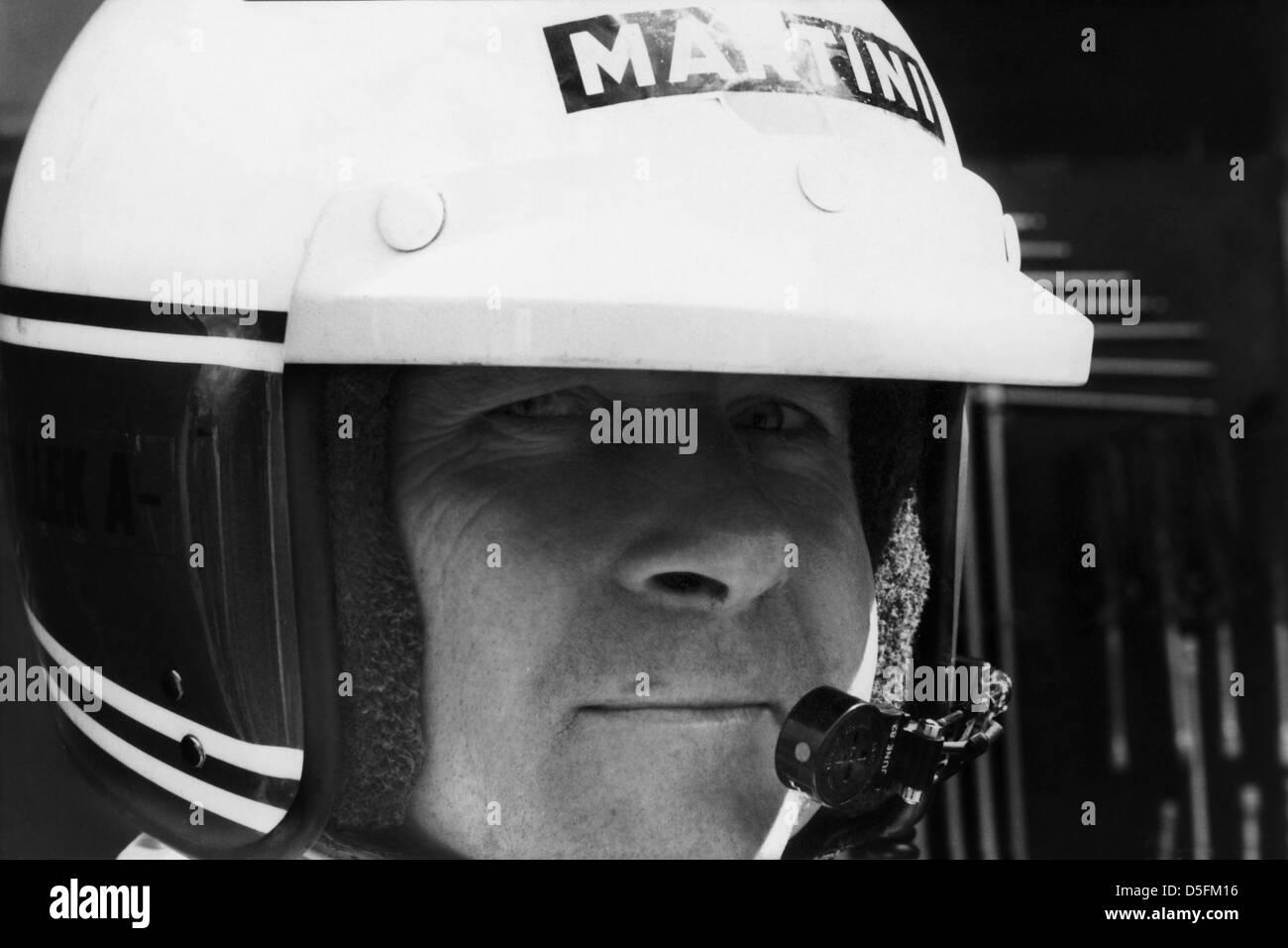 Bob Wolleck, Martini Lancia, 1000 KM Spa, Belgium - Stock Image
