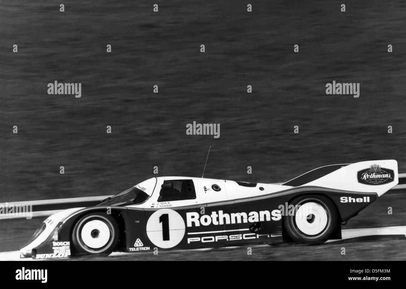 1000 Km Mugello 1985 Italy Porsche 962 Jochen Mass D Jacky Ickx B Stock Photo Alamy