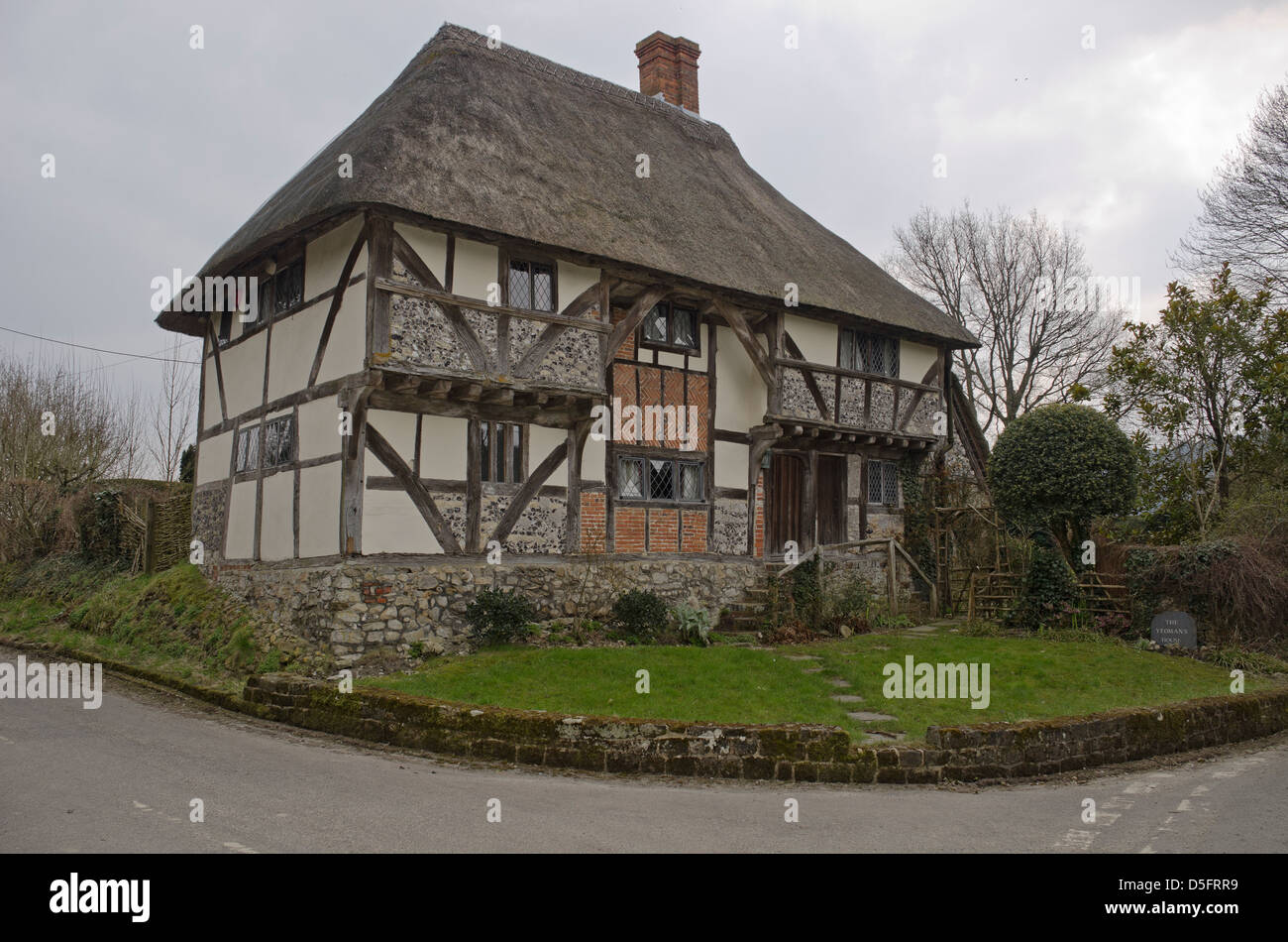 Dating from 1420, The Yeoman's House, is a medieval hall house,