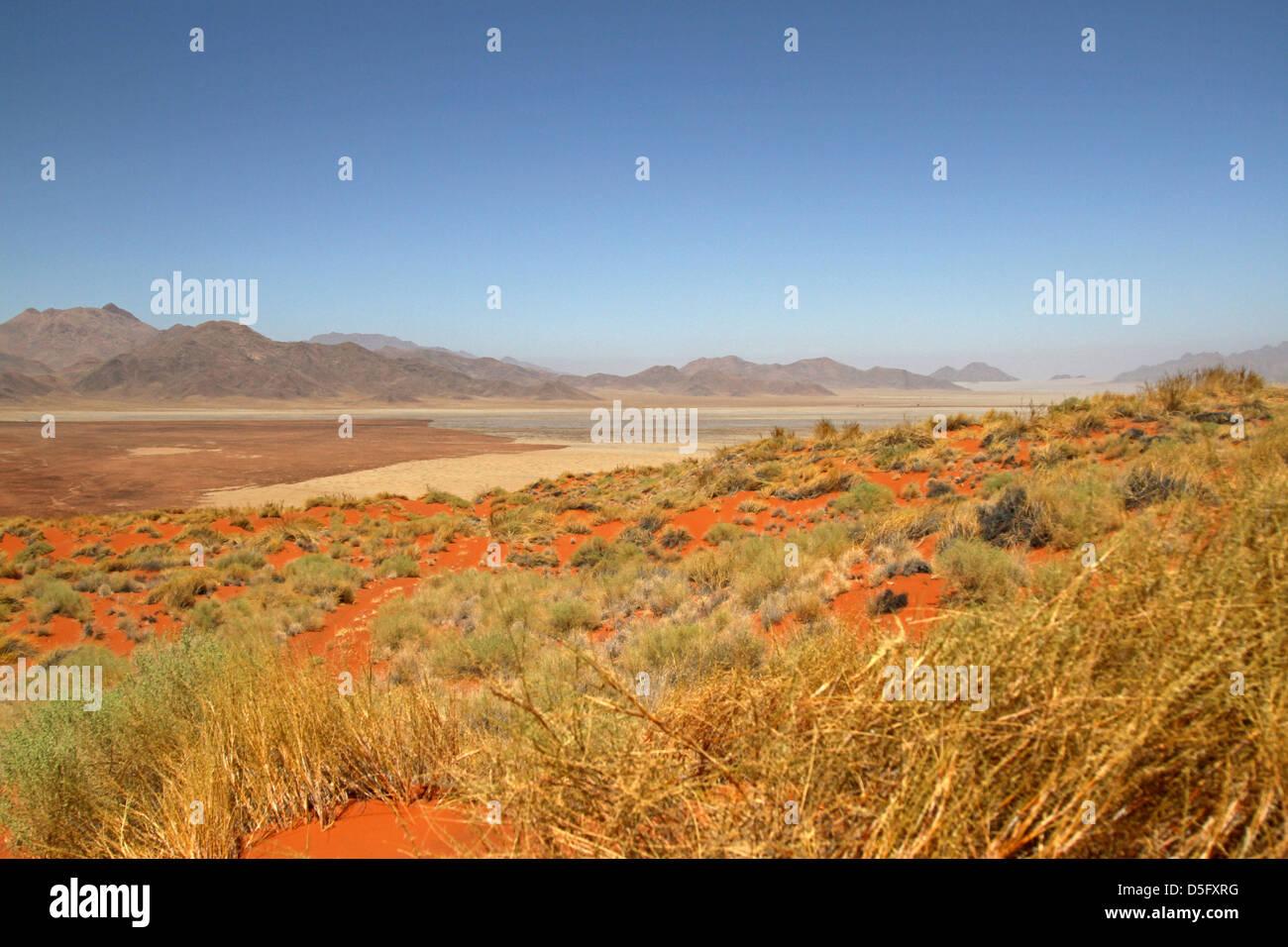 Namibrand Nature Reserve Vista - Stock Image