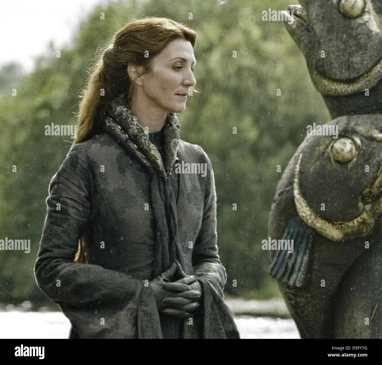 GAME OF THRONES  2011 HBO TV series with Michelle Fairley - Stock Image