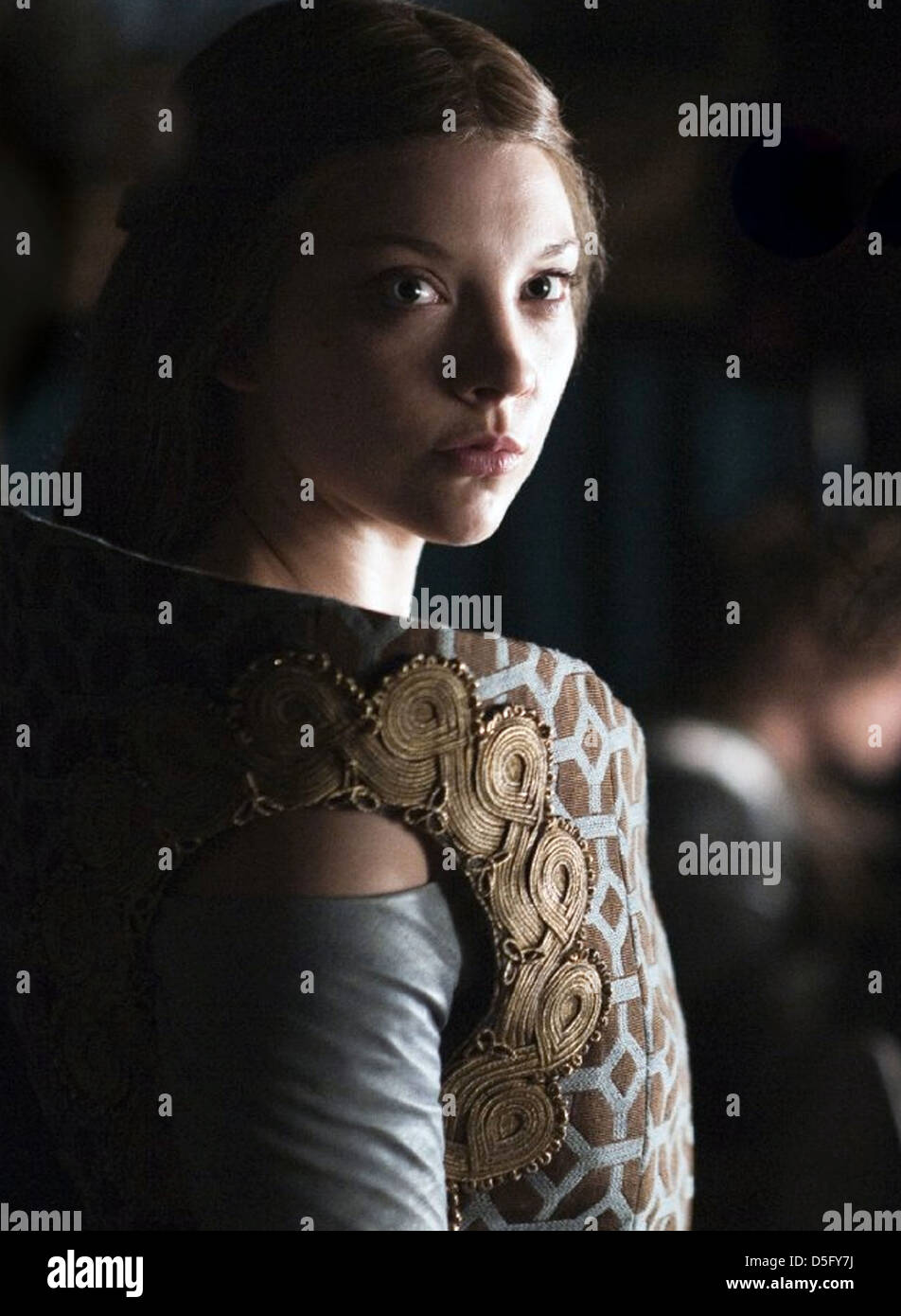 GAME OF THRONES  2011 HBO TV series with Natalie Dormer - Stock Image