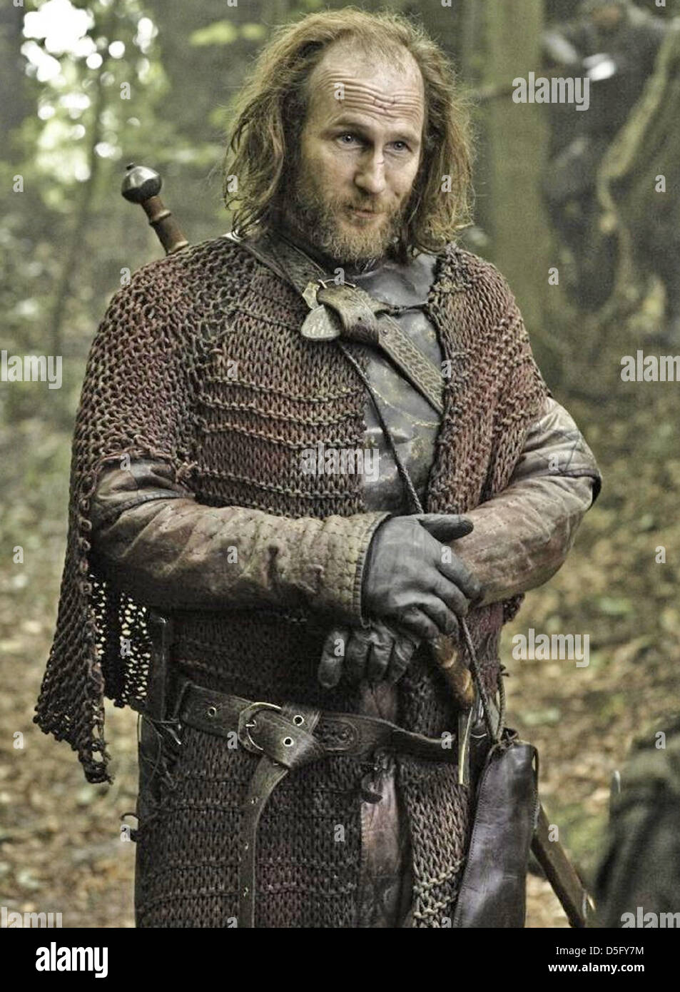 GAME OF THRONES  2011 HBO TV series with Paul Kaye - Stock Image