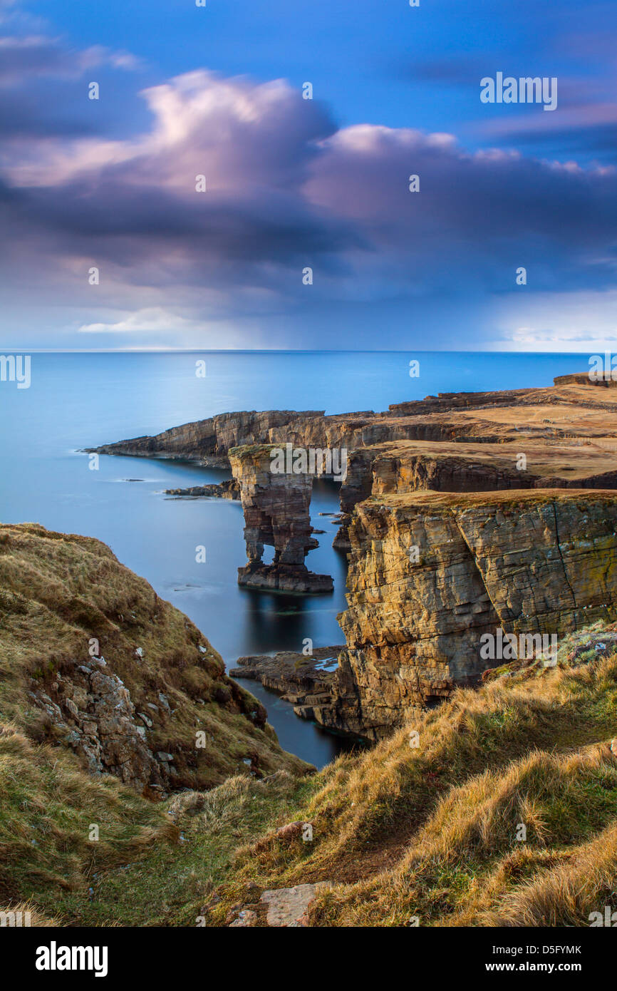 Yesnaby in Orkney - Stock Image