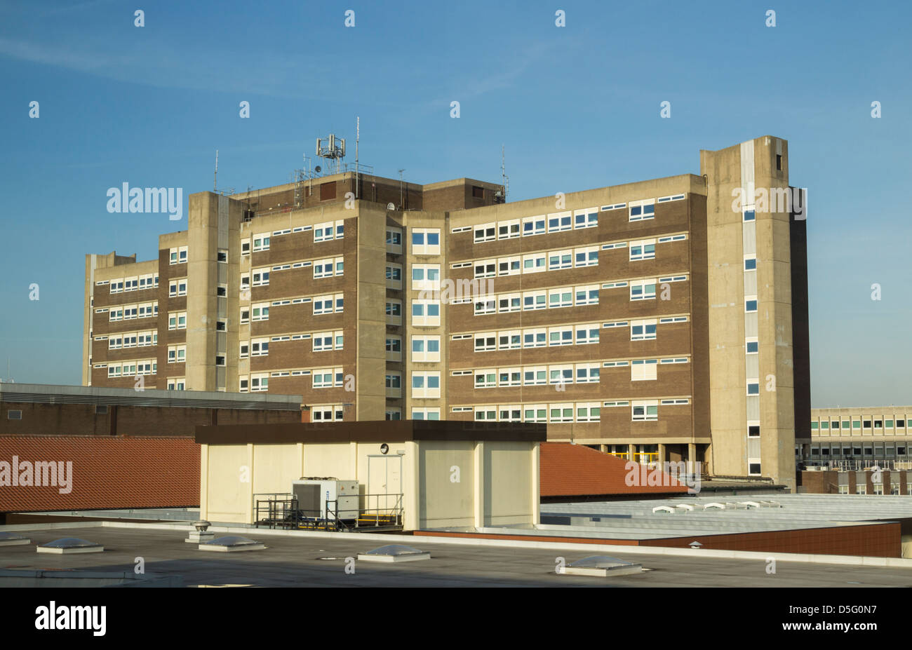 North Tees hospital, Hardwick, Stockton on Tees, Cleveland, England, uk - Stock Image