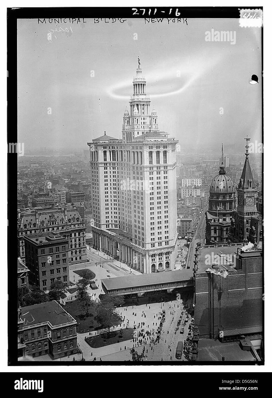 Municipal Bldg. - New York (LOC) - Stock Image