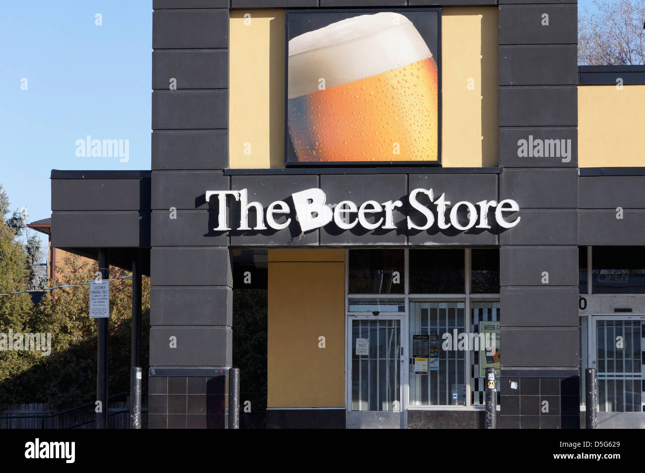 The Beer Store, Ontario, Canada - Stock Image