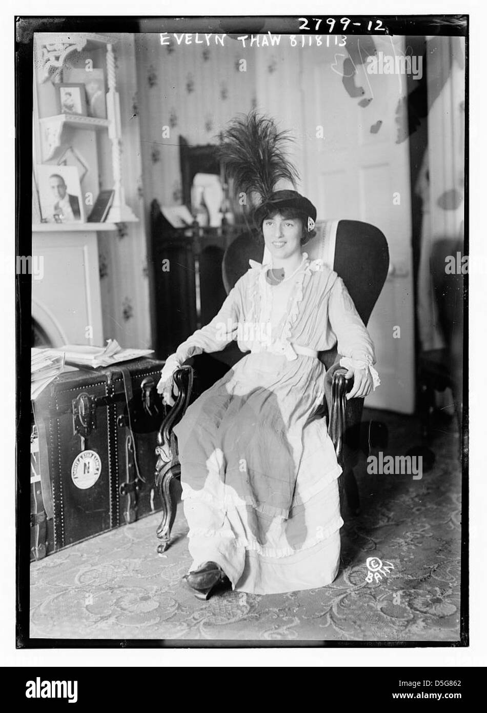 Evelyn Thaw (LOC) - Stock Image