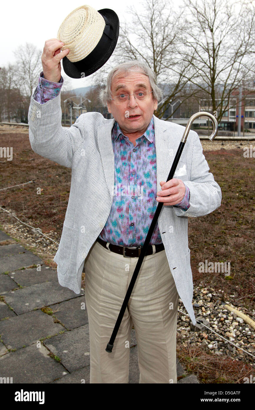 'The Hobbit' actor and the Doctor in 'Doctor Who 1987-1989', Sylvester McCoy, attending the 'There - Stock Image