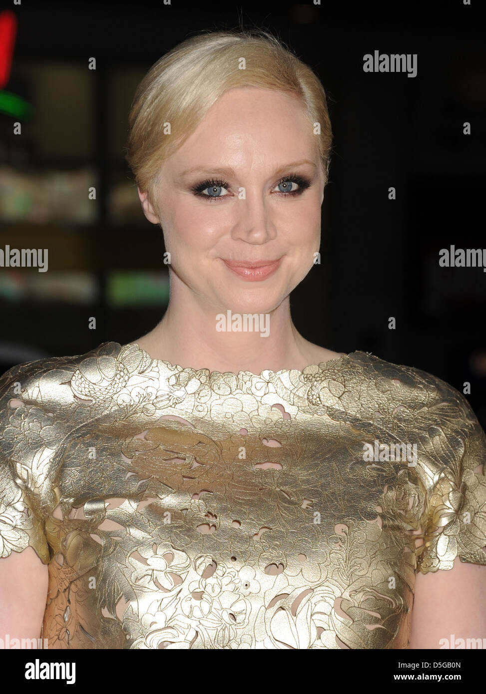 GWENDOLINE CHRISTIE  UK TV and film actress - Stock Image
