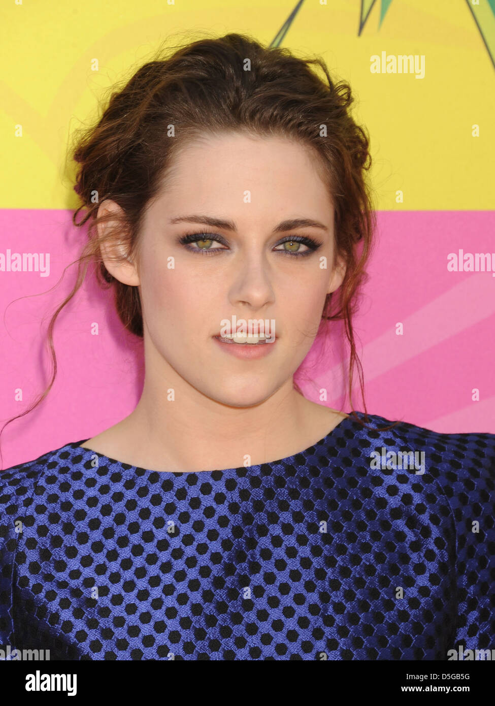 KRISTEN STEWART  US film and Tv actress in March 2013. Photo Jeffrey Mayer - Stock Image