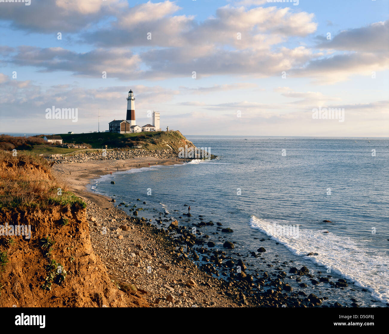 montauk lighthouse south fork long island new york usa stock photo 55067618 alamy. Black Bedroom Furniture Sets. Home Design Ideas