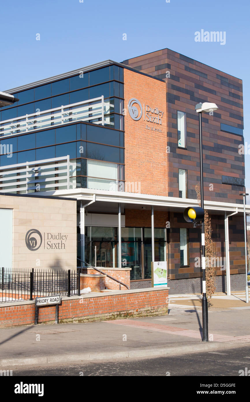 The new Dudley A level college called the Sixth - Stock Image