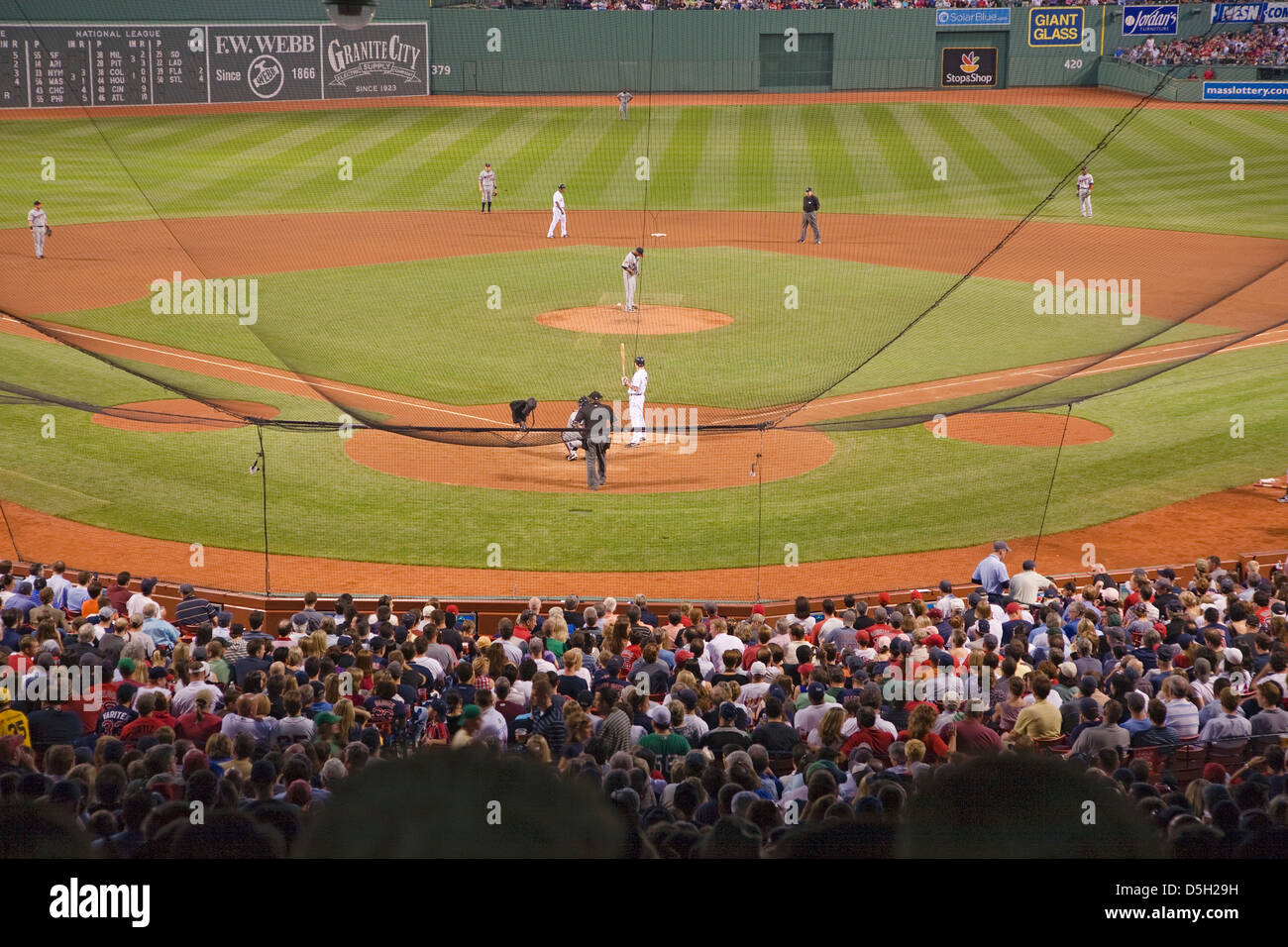 Park Home Red Sox Ma Stock Photos & Park Home Red Sox Ma Stock ...