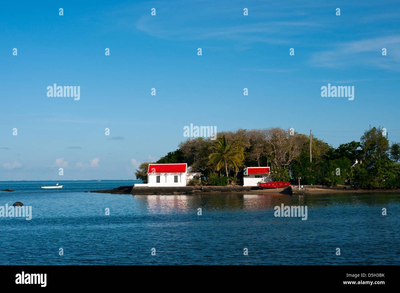 mahebourg, mauritius - Stock Image