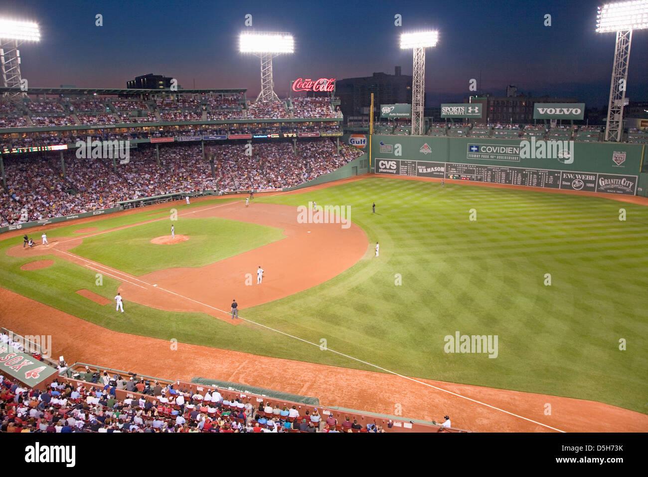 Fenway Park Red Sox Stadium Stock Photos & Fenway Park Red Sox ...