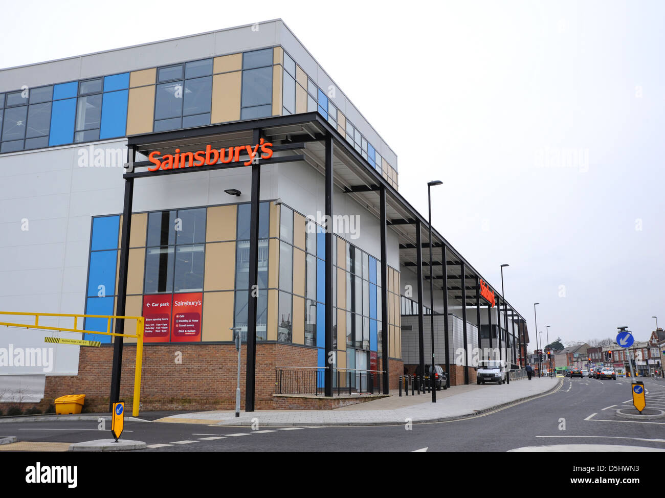 the sainsbury 39 s superstore supermarket store in portswood. Black Bedroom Furniture Sets. Home Design Ideas