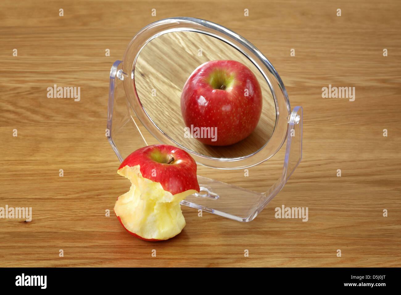 Eating disorder - Stock Image