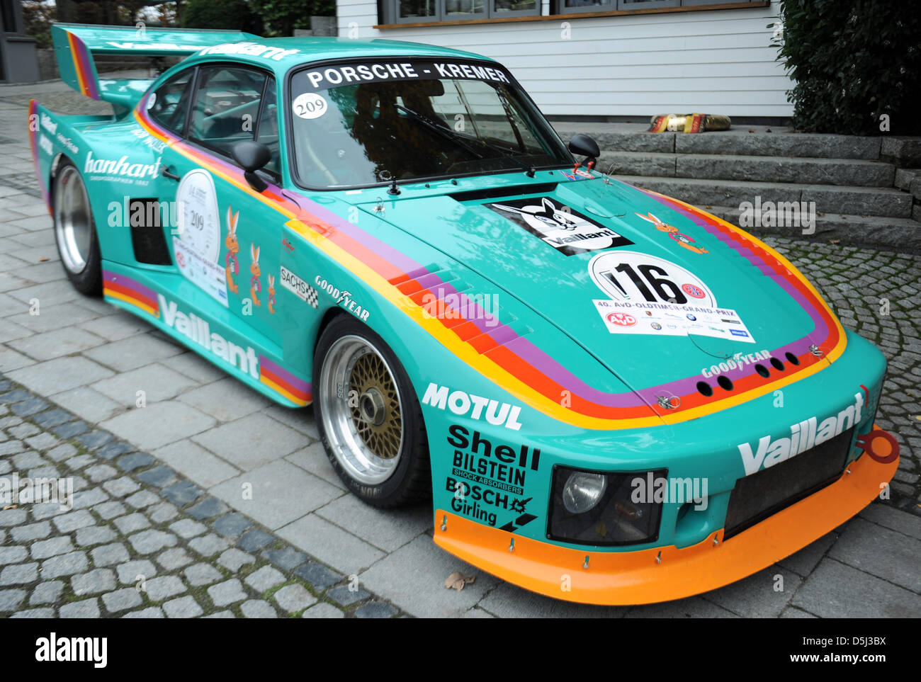 The Kremer Porsche 935 K3 From 1987 Is Parked For The Essen Motor Stock Photo Alamy
