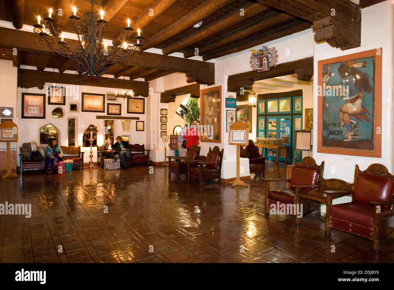 La Fonda Hotel Santa Fe History