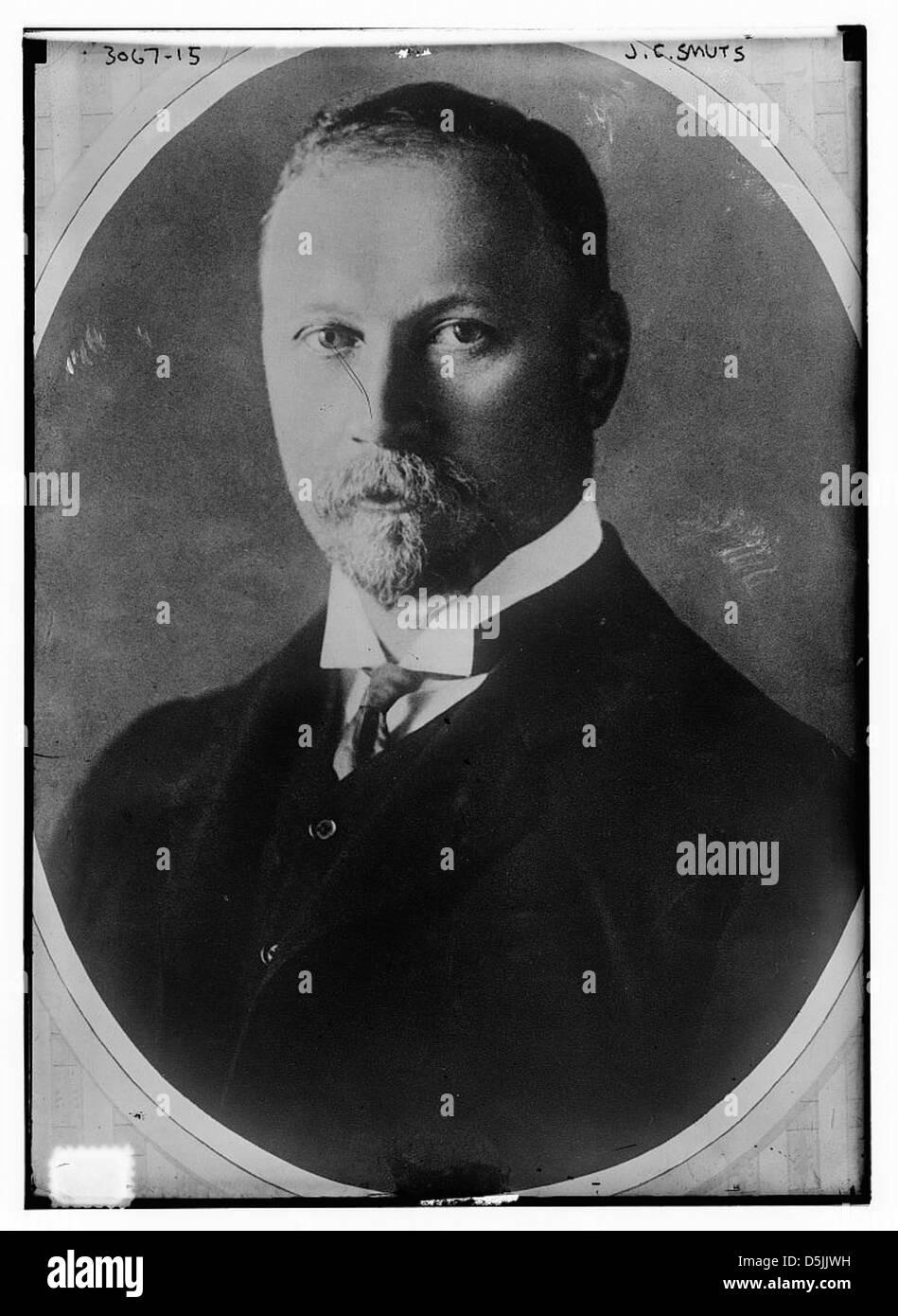 J.C. Smuts (LOC) - Stock Image