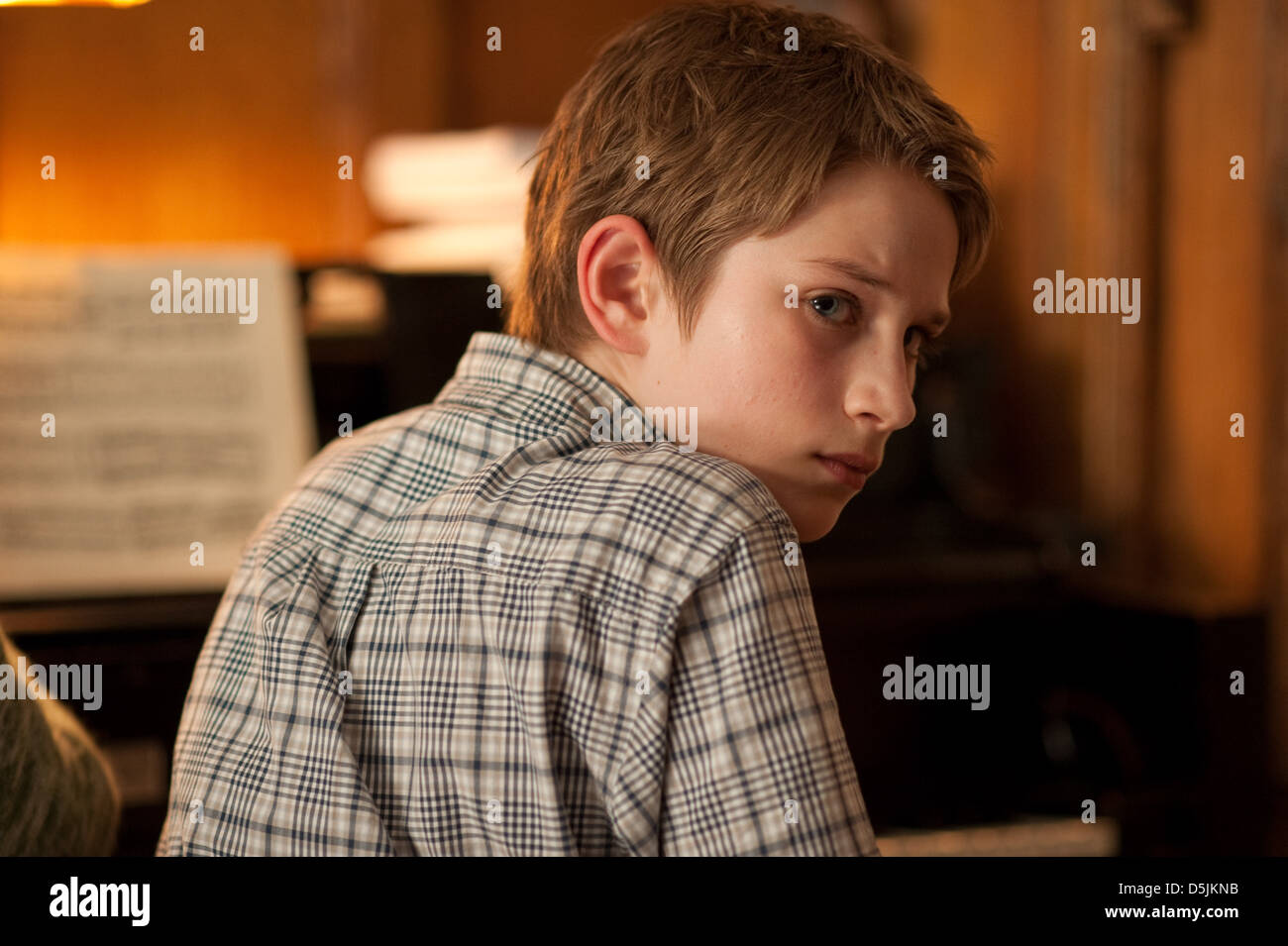 THOMAS HORN EXTREMELY LOUD AND INCREDIBLY CLOSE (2011) - Stock Image