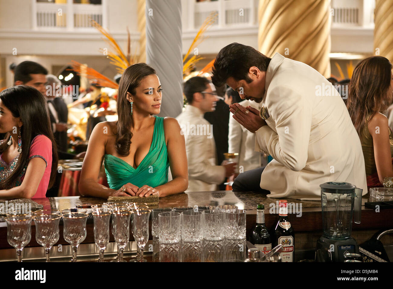 Paula Patton Anil Kapoor Mission Impossible Ghost Protocol 2011 Stock Photo Alamy