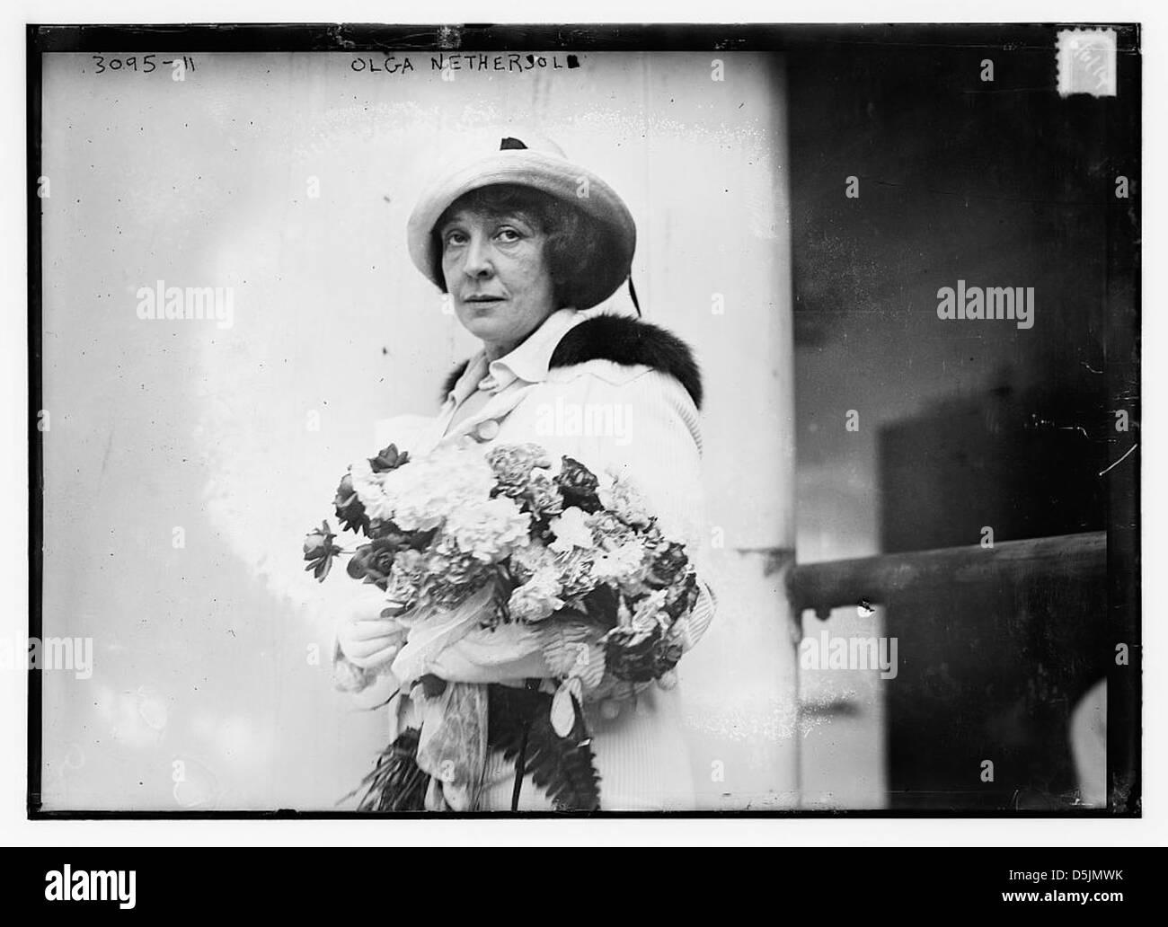Olga Nethersole (LOC) - Stock Image