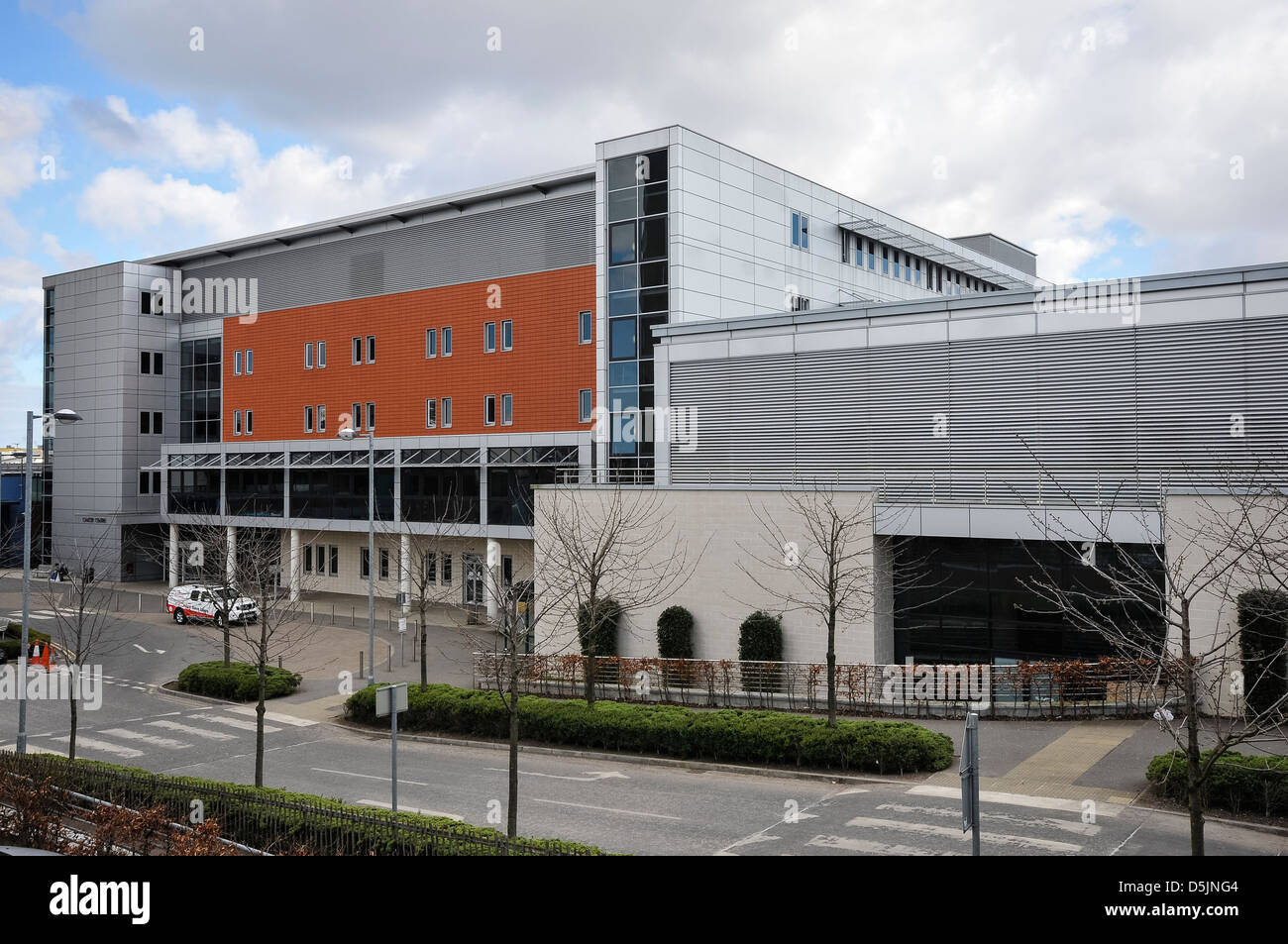 Northern Ireland Cancer Centre - Stock Image