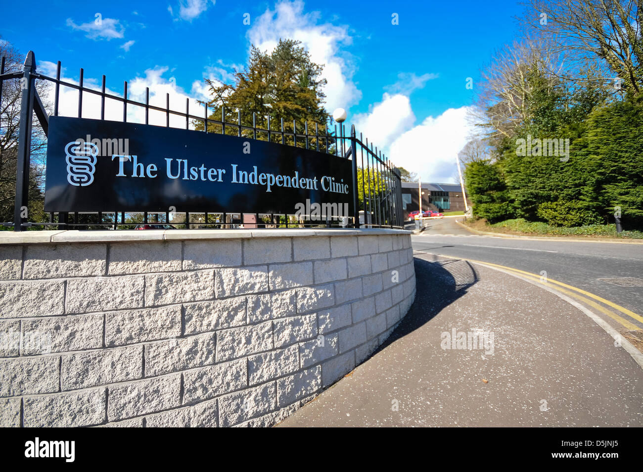 Ulster Independent Clinic - Stock Image