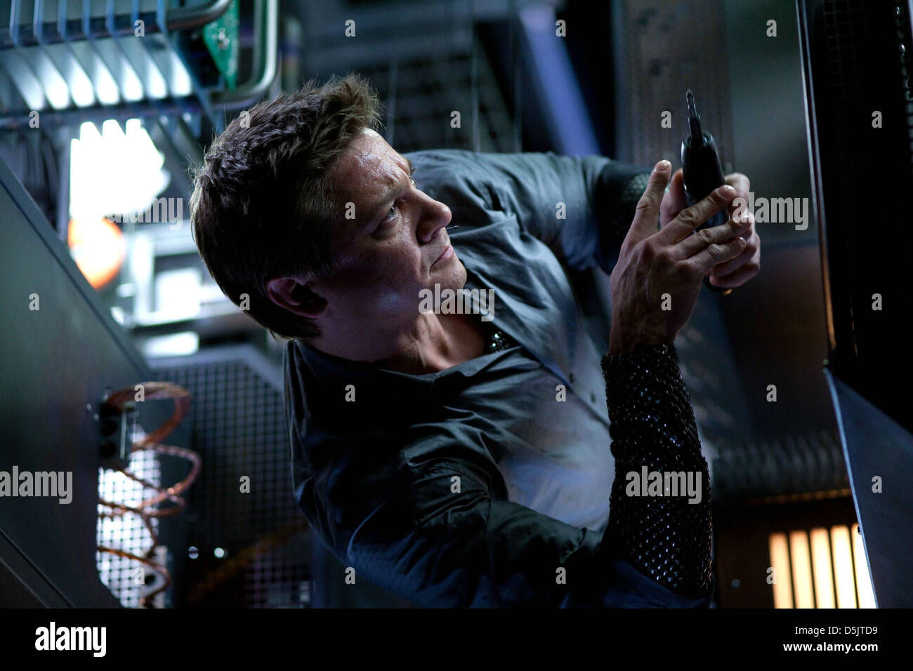 JEREMY RENNER MISSION: IMPOSSIBLE - GHOST PROTOCOL (2011) - Stock Image