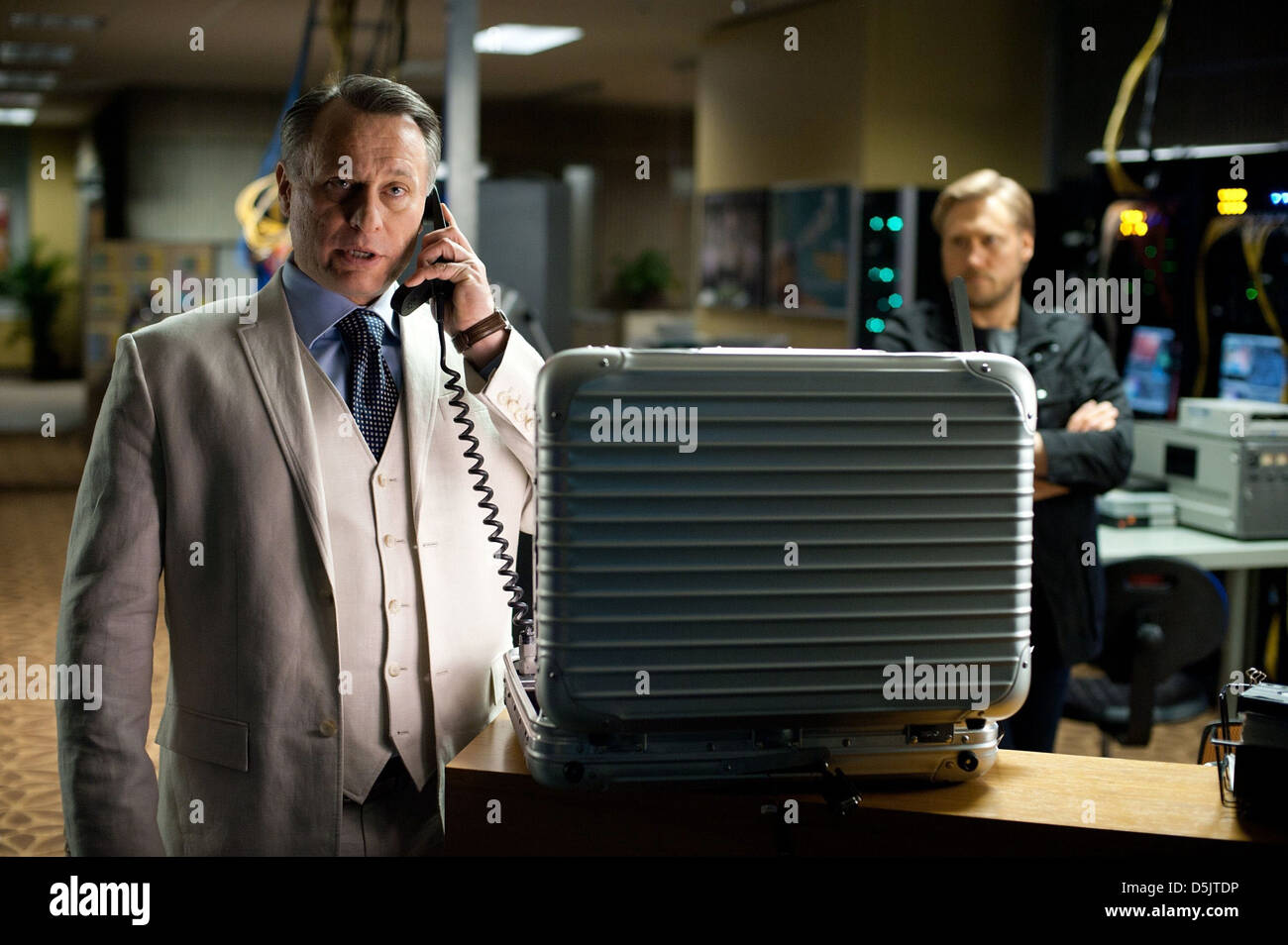 MICHAEL NYQVIST MISSION: IMPOSSIBLE - GHOST PROTOCOL (2011) - Stock Image