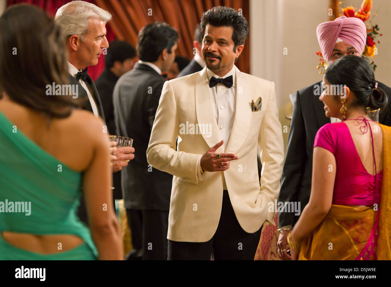 Anil Kapoor Mission Impossible Ghost Protocol 2011 Stock Photo Alamy