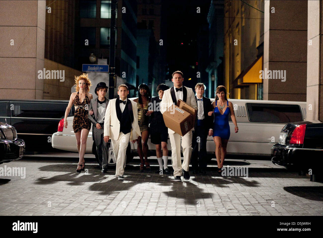 Jonah Hill Channing Tatum 21 Jump Street 2012 Stock Photo Alamy