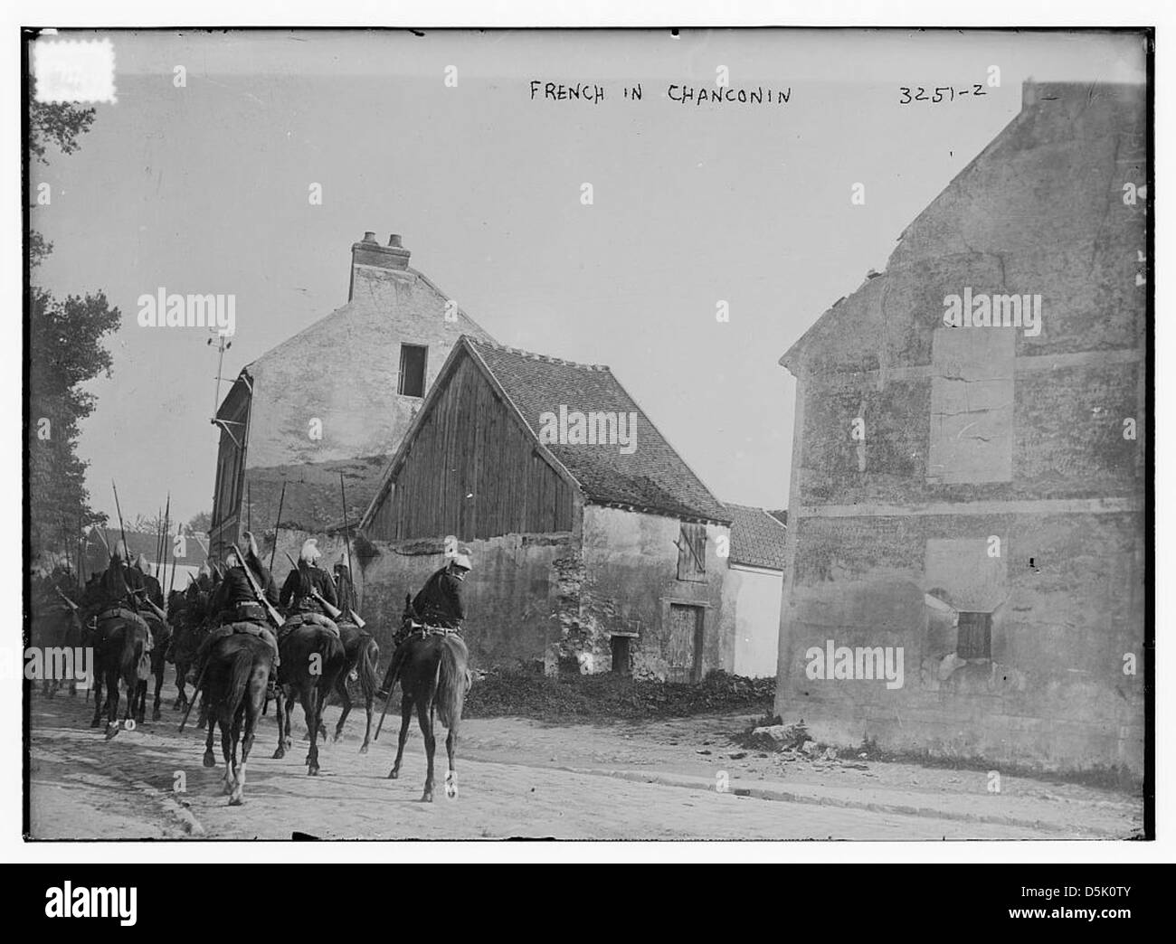 French in Chanconin [i.e., Chauconin-Neufmontiers] (LOC) Stock Photo