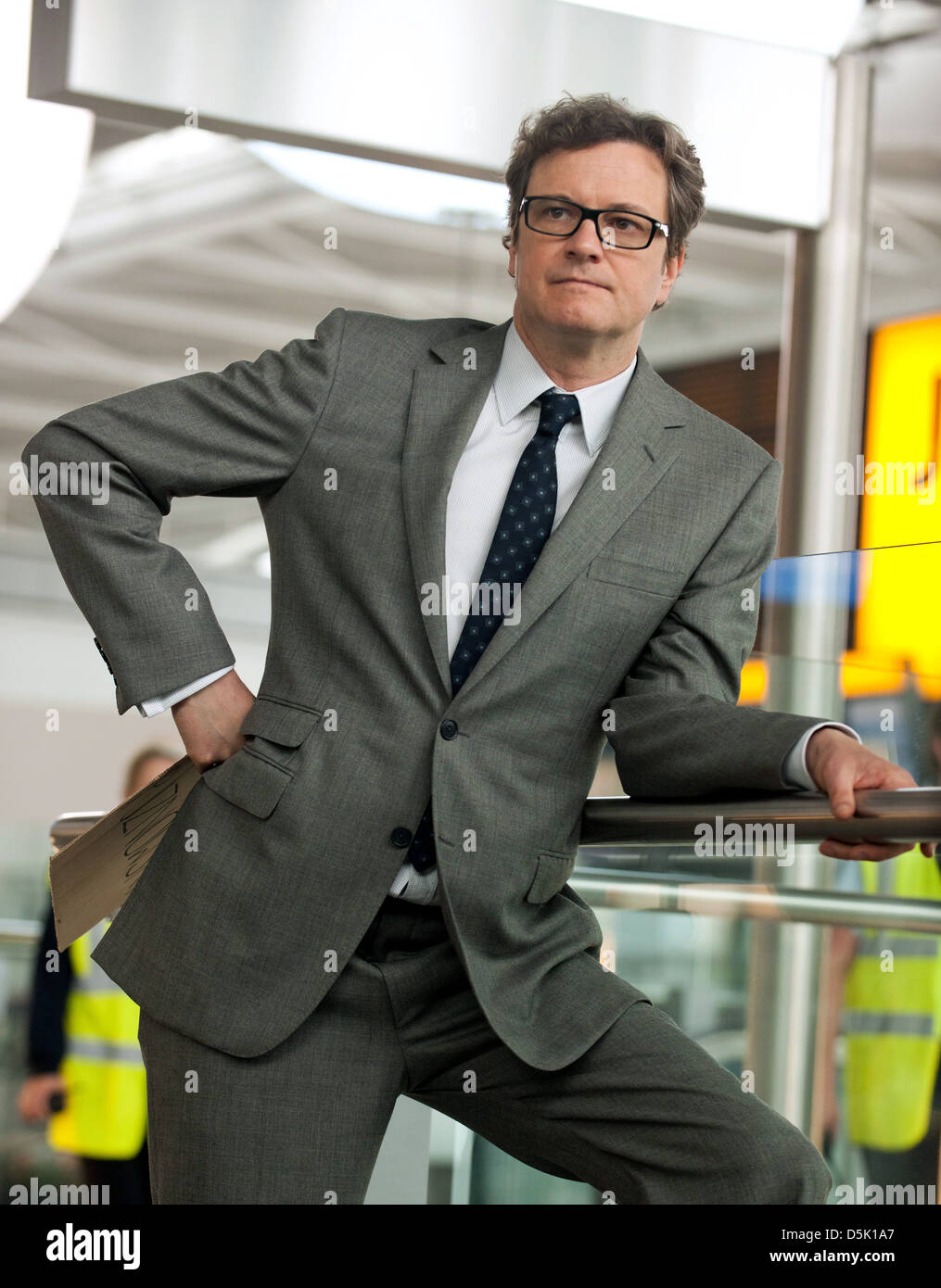 COLIN FIRTH GAMBIT (2012)Stock Photo