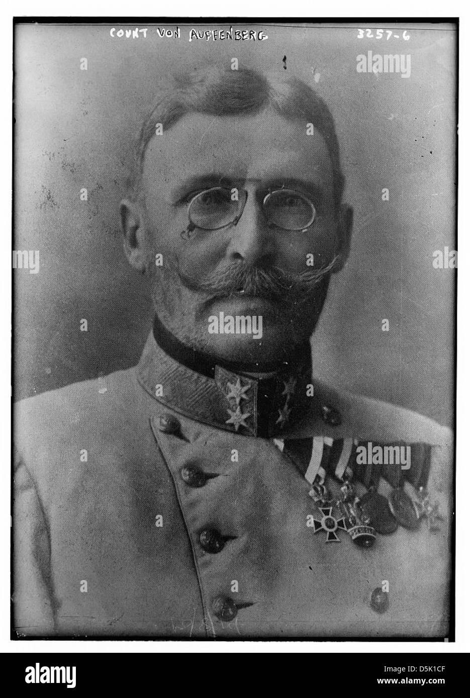 Count Von Auffenberg (LOC) - Stock Image