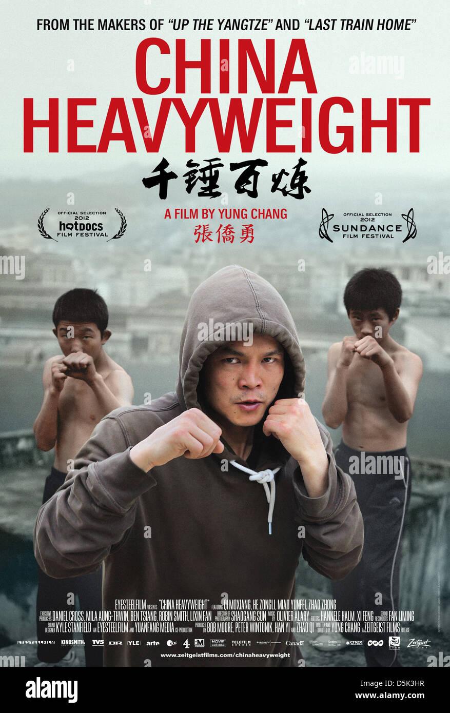 MOXIANG QI POSTER CHINA HEAVYWEIGHT (2012) - Stock Image