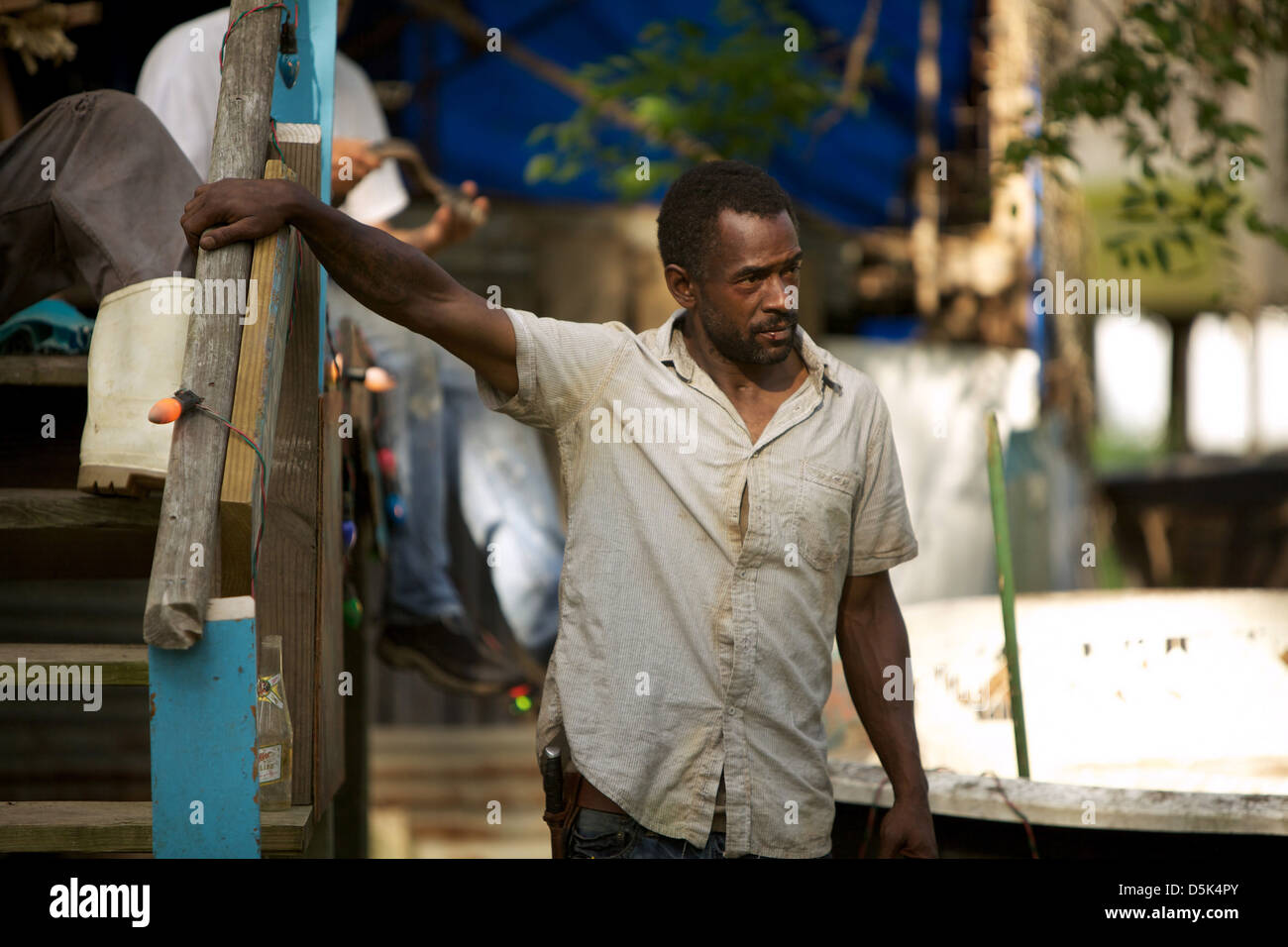 DWIGHT HENRY BEASTS OF THE SOUTHERN WILD (2012) - Stock Image