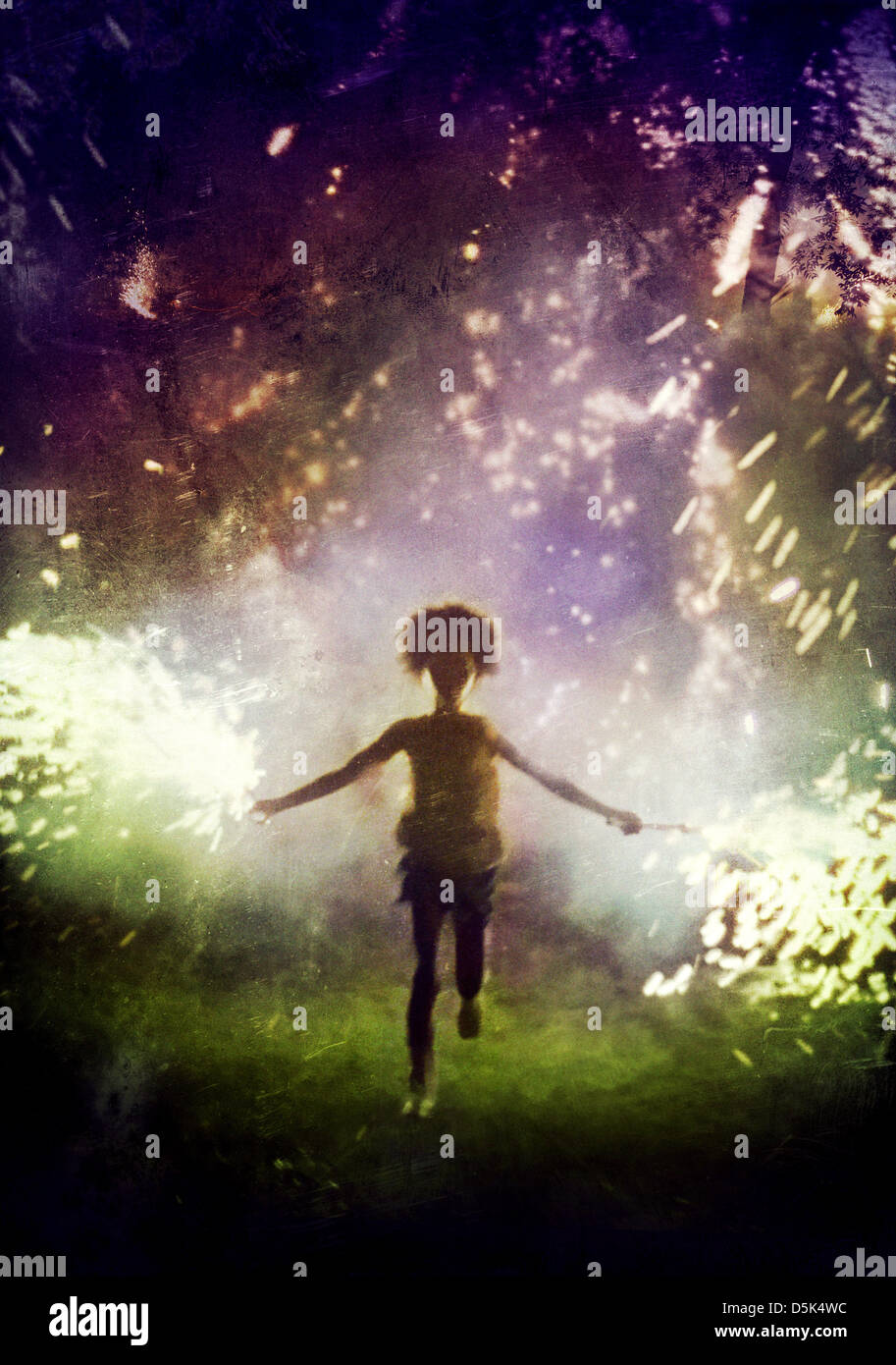 QUVENZHANE WALLIS BEASTS OF THE SOUTHERN WILD (2012) - Stock Image
