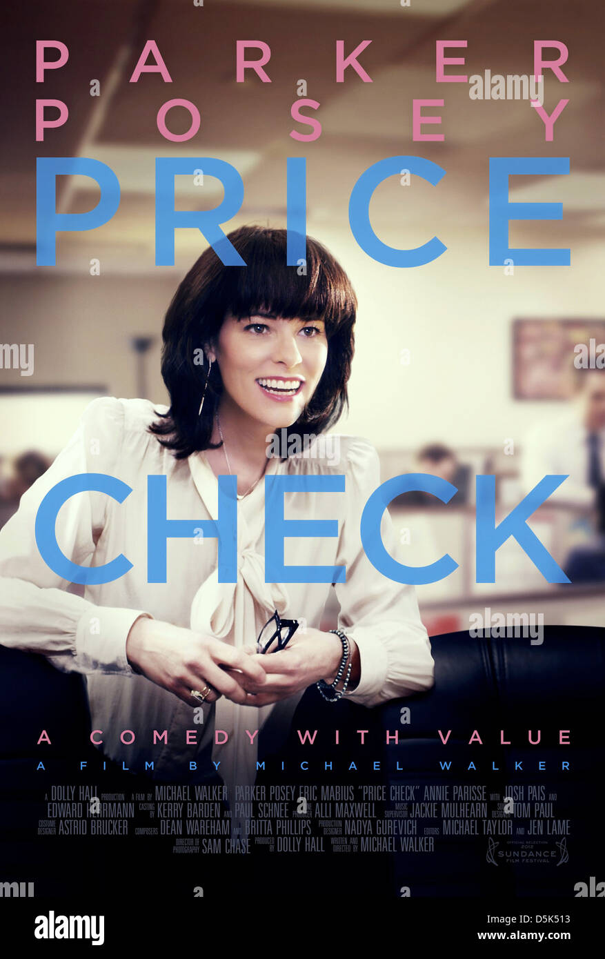 PARKER POSEY POSTER PRICE CHECK (2012) - Stock Image