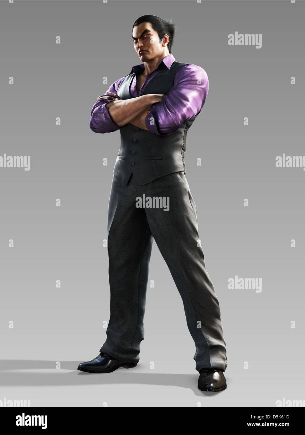 Kazuya Mishima Tekken Blood Vengeance 2011 Stock Photo Alamy