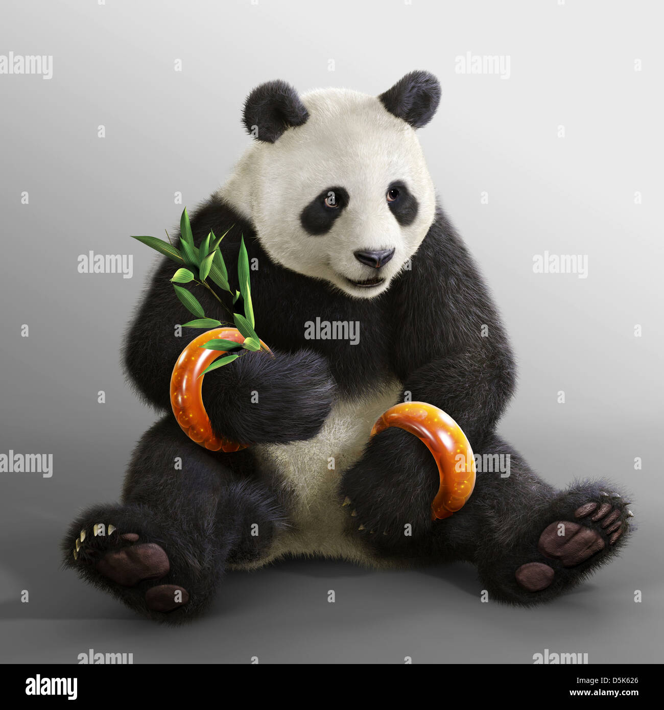 Panda Tekken Blood Vengeance 2011 Stock Photo Alamy