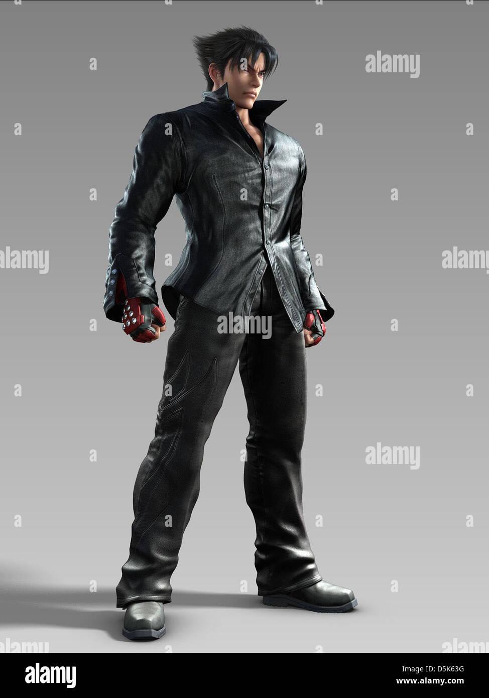 Jin Kazama Tekken Blood Vengeance 2011 Stock Photo Alamy