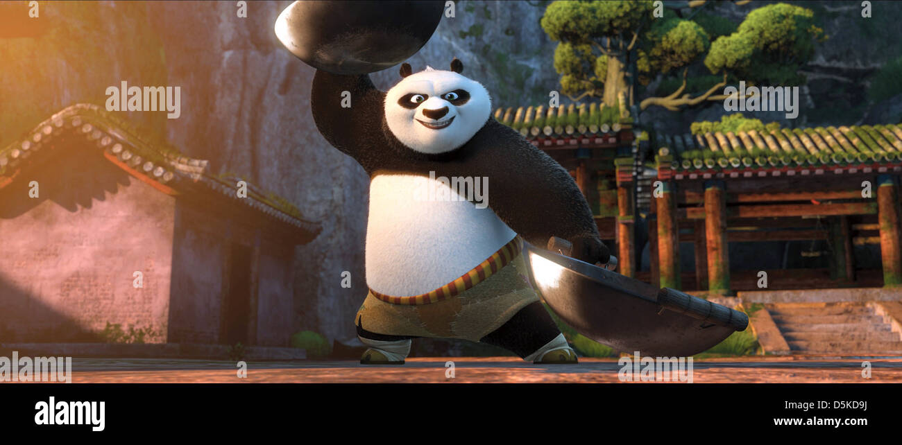 Po The Panda Kung Fu Panda 2 2011 Stock Photo Alamy