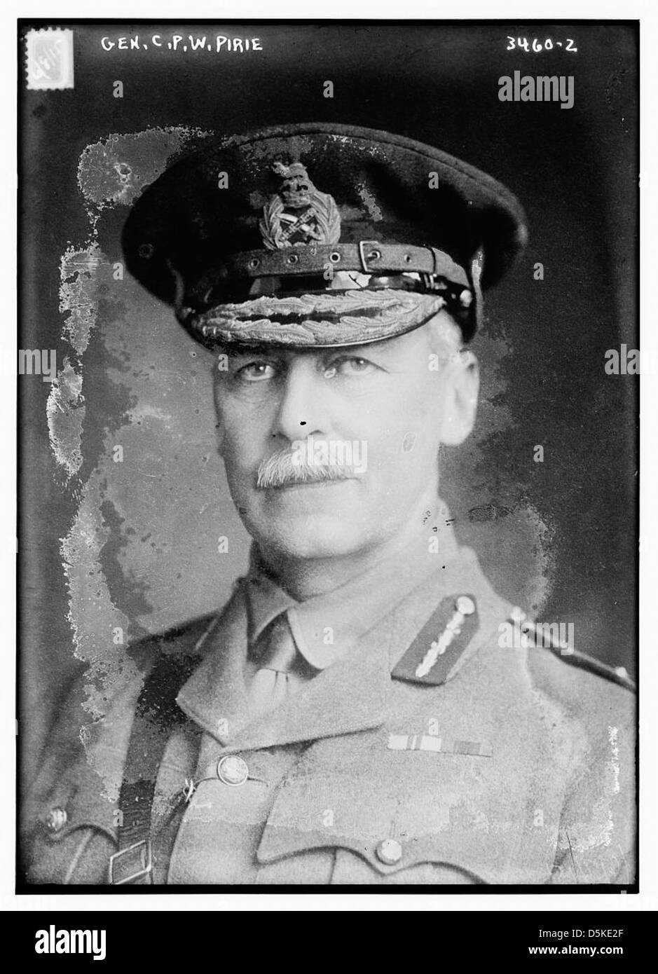 Gen. C.P. W. Pirie (LOC) - Stock Image