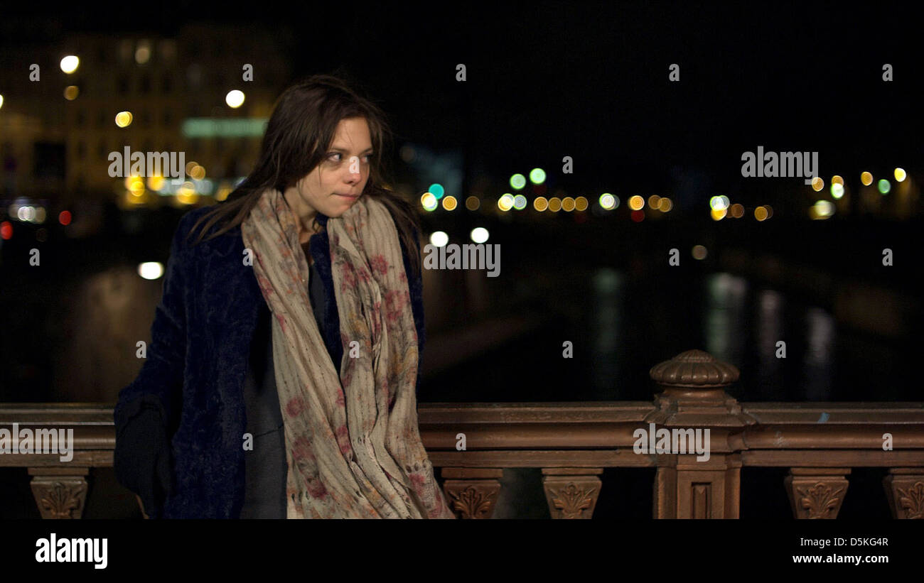 lizzie brochere after fall winter 2011 stock photo 55134151 alamy
