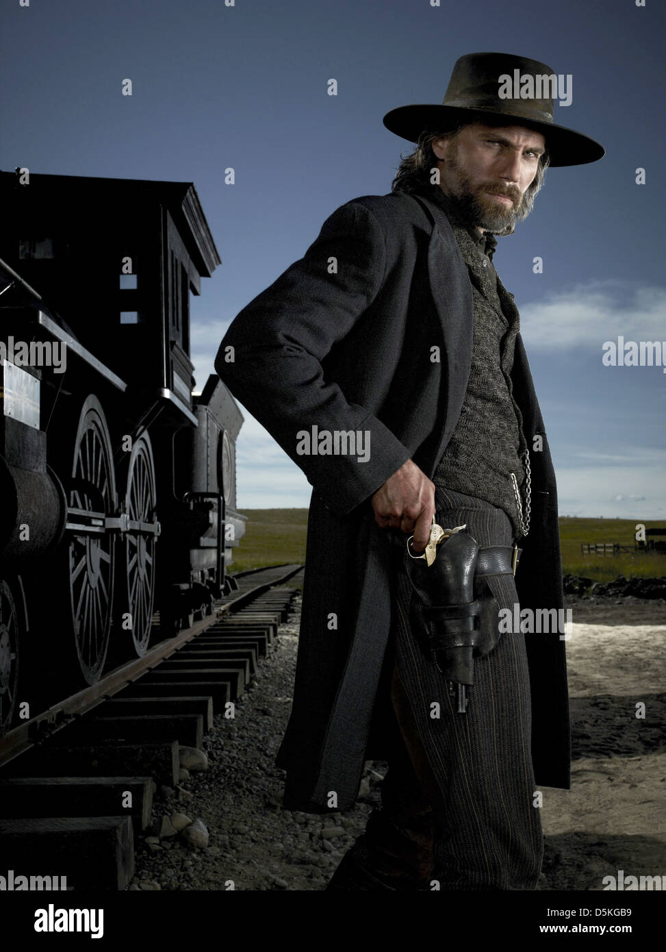 ANSON MOUNT HELL ON WHEELS (2011) - Stock Image