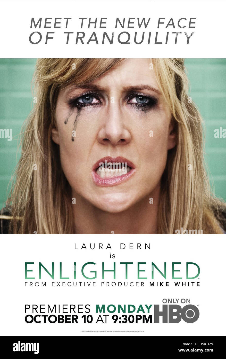 LAURA DERN POSTER ENLIGHTENED (2011) Stock Photo